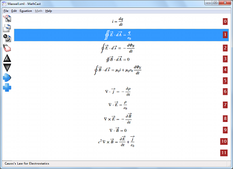 MathCast�s Edit Screen